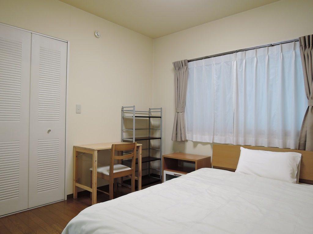 ベッド1つタイプのお部屋