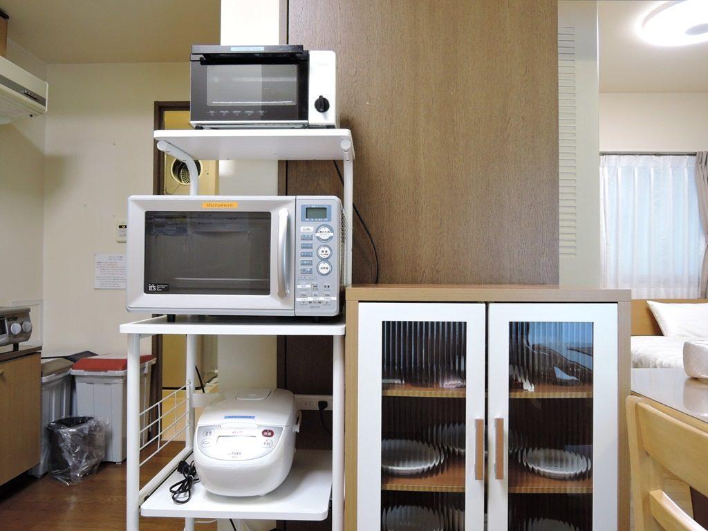 トースター・電子レンジ・炊飯器