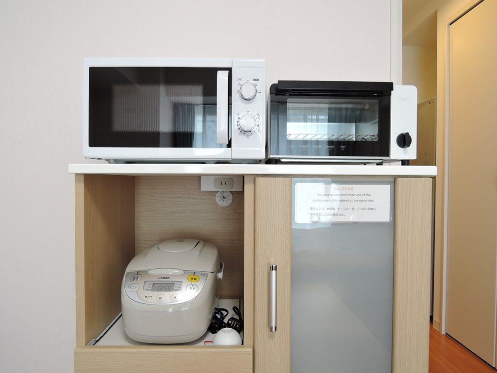 電子レンジ・トースター・炊飯器