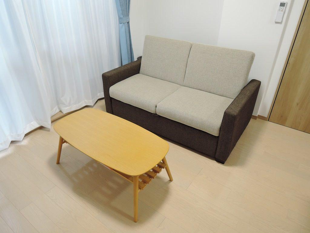 ソファベッド・テーブル