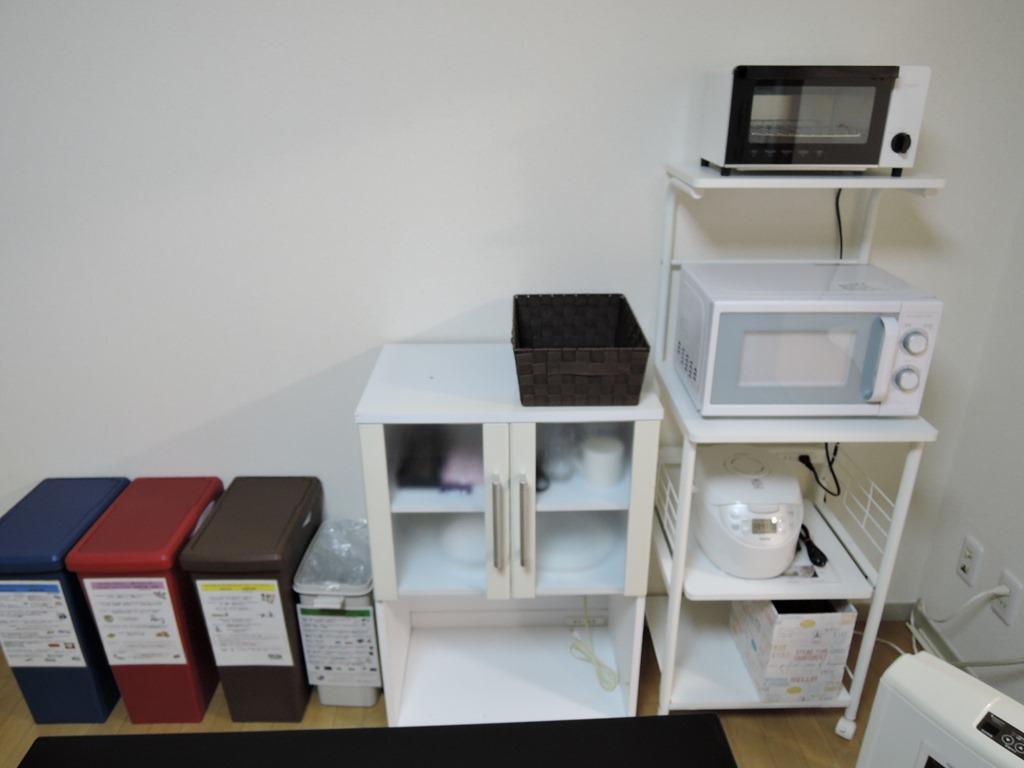 電子レンジ・トースター炊飯器
