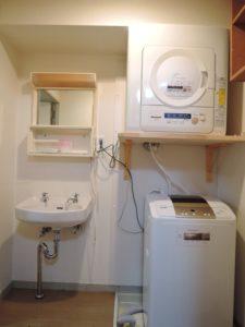 洗濯機・乾燥機・洗面台