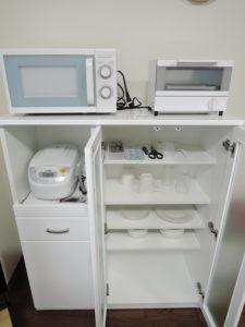 食器・レンジ・トースター・炊飯器